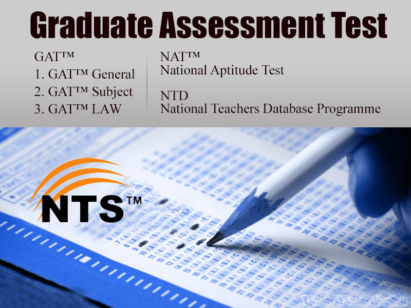 (Graduate Assessment Test) NTS General Test
