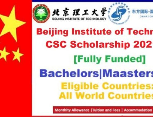 Beijing Institute of Technology CSC Scholarship 2021 Fully Funded