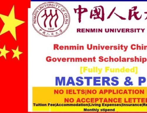 Renmin University Chinese Government Scholarship 2021