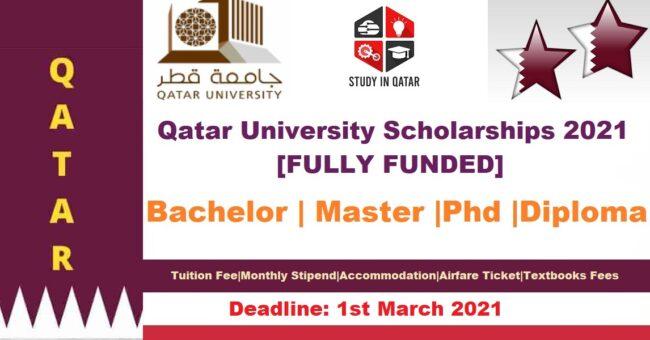 Qatar University Scholarships 2021 [Fully Funded]